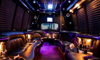 15 person party bus rental Sacramento