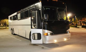 40 passenger party bus Sacramento