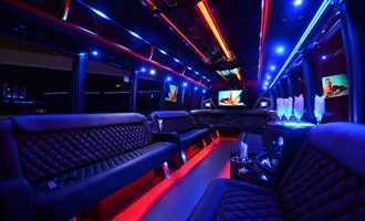 40 passenger party bus rental Sacramento