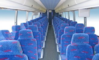 50 person charter bus rental Sacramento