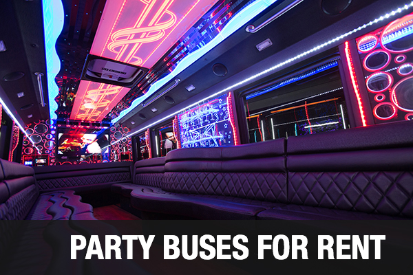 party bus Sacramento