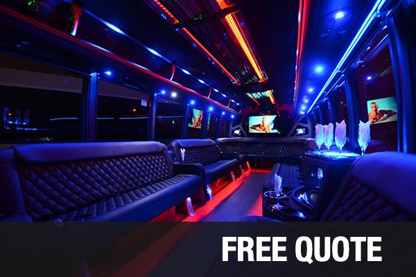 party buses for rental Sacramento