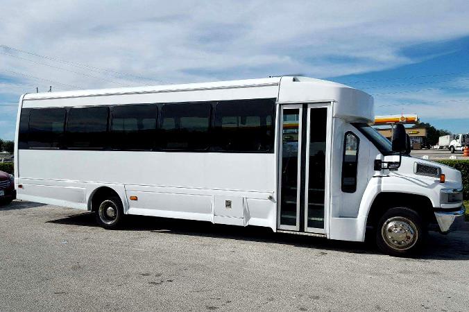 Sacramento 36 Passenger Shuttle Bus