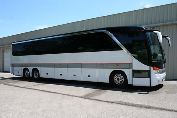 Sacramento 56 Passenger Charter Bus